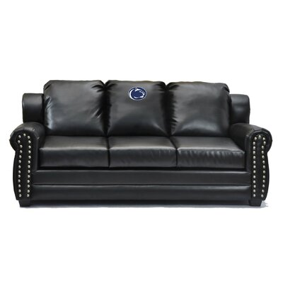 NCAA Coach Leather Sofa College Team: Penn State