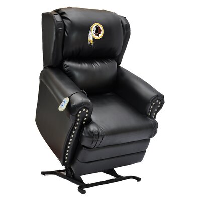 Football Power Lift Assist Recliner NFL Team: Washington Redskins