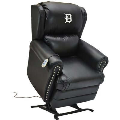Baseball Power Lift Assist Recliner MLB Team: Detroit Tigers