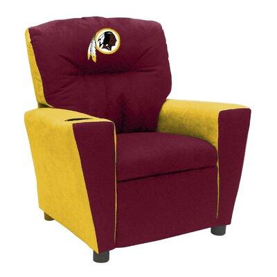 Kids Fan Favorite Recliner NFL Team: Washington Redskins