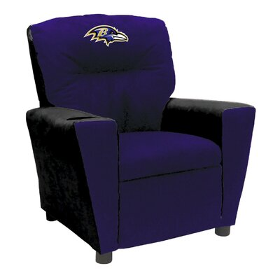 Tween Fan Favorite Recliner NFL Team: Baltimore Ravens