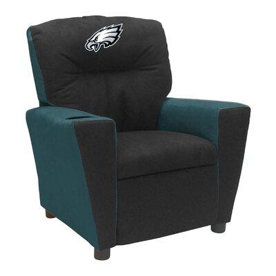 Tween Fan Favorite Recliner NFL Team: Philadelphia Eagles