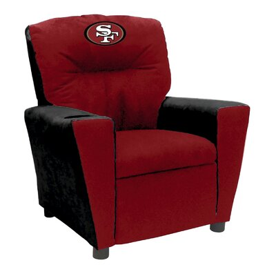Tween Fan Favorite Recliner NFL Team: San Francisco 49ers