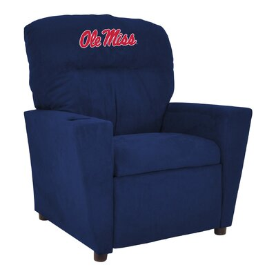 NCAA Kids Recliner College Team: University of Mississippi