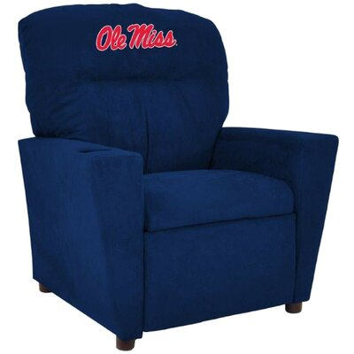 NCAA Tween Recliner College Team: University of Mississippi