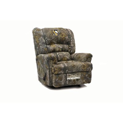 Big Daddy Camo Recliner NHL Team: Pittsburgh Penguins�