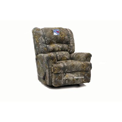 Big Daddy Camo Recliner NHL Team: New York Rangers�