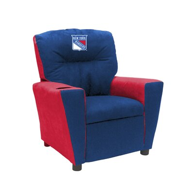 Kids Fan Favorite Recliner NHL Team: New York Rangers�