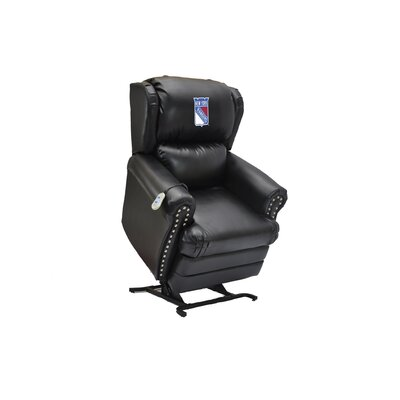 Hockey Power Lift Assist Recliner NHL Team: New York Rangers�