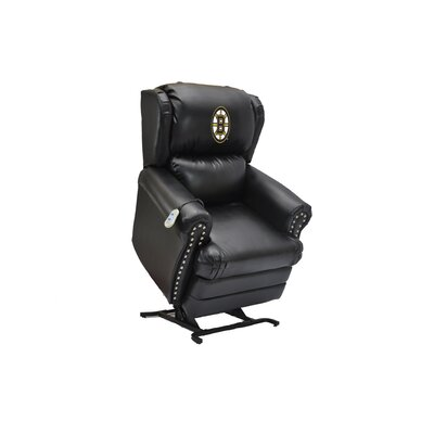 Hockey Power Lift Assist Recliner NHL Team: Boston Bruins�
