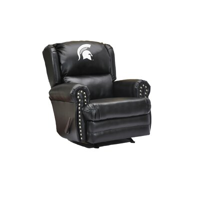 Leather Recliner College Team: Michigan State