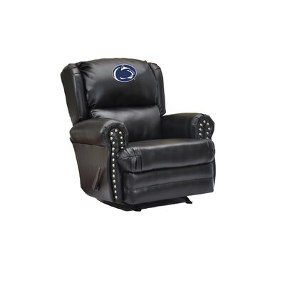 Coach Leather Recliner College Team: Penn State