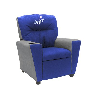 Kids Fan Favorite Recliner MLB Team: Los Angeles Dodgers