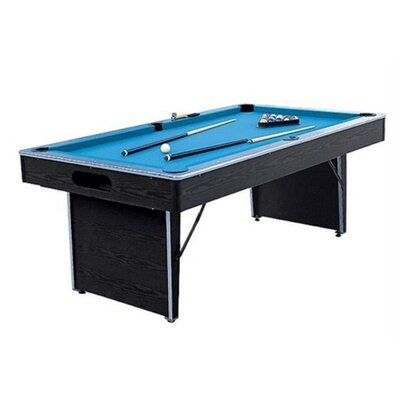 Folding Non-Slate 6.5' Pool Table IMP  29-650