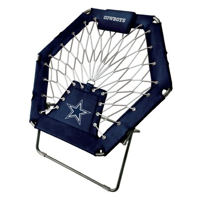 Premium Bungee Side Chair NFL Team: Dallas Cowboys