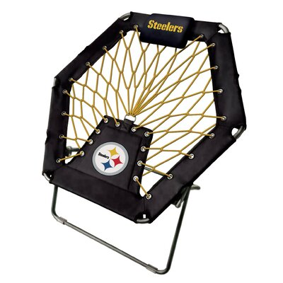 Premium Bungee Side Chair NFL Team: Pittsburgh Stellers