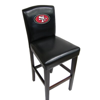 NFL 29.5 Bar Stool NFL Team: San Francisco 49ers