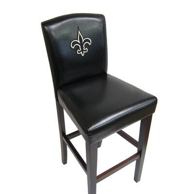 NFL 29.5 Bar Stool NFL Team: New Orleans Saints