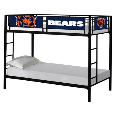 NFL Twin Bunk Bed NFL Team: Chicago Bears