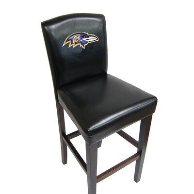 NFL 29.5 Bar Stool NFL Team: Baltimore Ravens