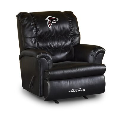 NFL Leather Manual Recliner NFL Team: Atlanta Falcons