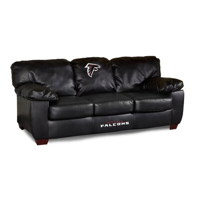 NFL Classic Leather Sofa NFL Team: Atlanta Falcons