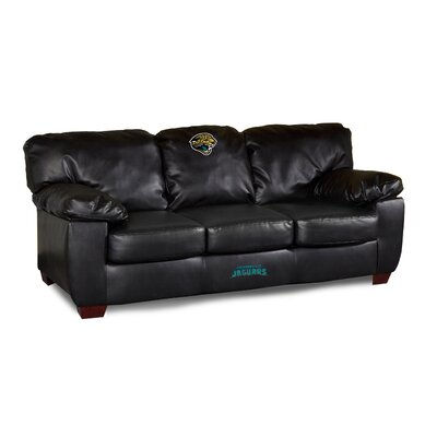 NFL Classic Leather Sofa NFL Team: Jacksonville Jaguars