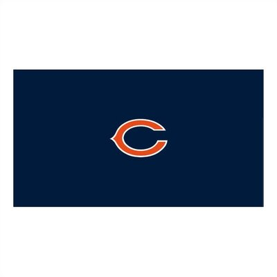 NFL Team Logo Billiard Table Cloth NFL Team: Chicago Bears