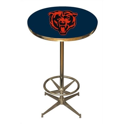 Nfl Pub Table Nfl Team: Chicago Bears
