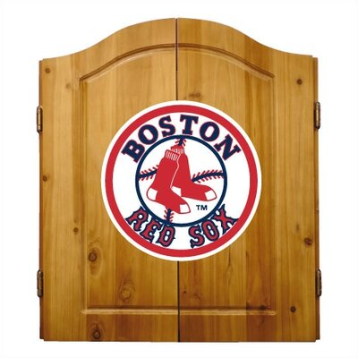 Imperial MLB Team Logo Complete Dart Cabinet Set - MLB Team: Boston Red Sox at Sears.com