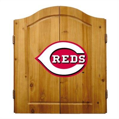 Imperial MLB Team Logo Complete Dart Cabinet Set - MLB Team: Cincinnati Reds at Sears.com