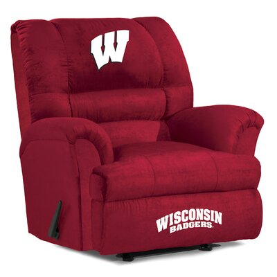 Big Daddy Recliner NCAA Team: University of Wisconsin