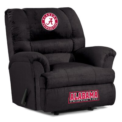 Big Daddy NCAA Recliner NCAA Team: University of Alabama