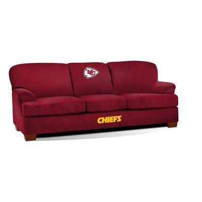 NFL First Team Sofa NFL Team: Kansas City Chiefs