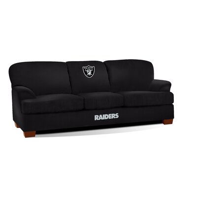 NFL First Team Sofa NFL Team: Oakland Raiders