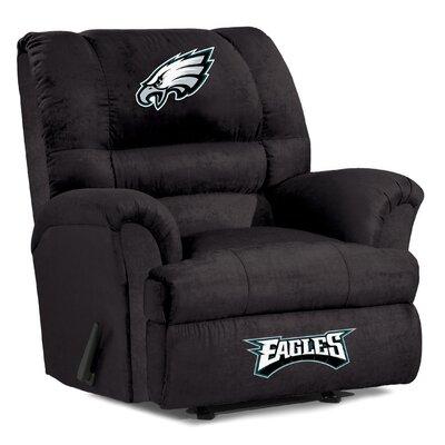 NFL Big Daddy Manual Recliner NFL Team: Philadelphia Eagles