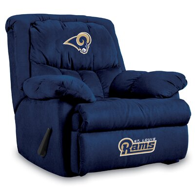 NFL Manual Recliner NFL Team: St. Louis Rams