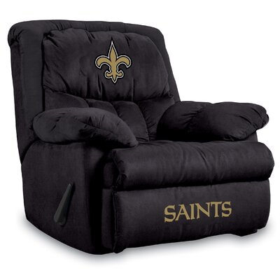 NFL Home Team Recliner NFL Team: New Orleans Saints