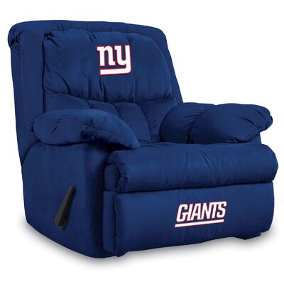 NFL Home Team Recliner NFL Team: New York Giants