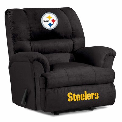 NFL Big Daddy Manual Recliner NFL Team: Pittsburgh Steelers