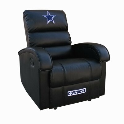NFL Media Recliner NFL Team: Dallas Cowboys