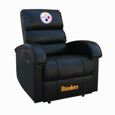 NFL Media Recliner NFL Team: Pittsburg Steelers