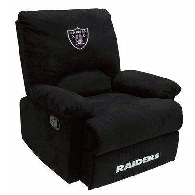 NFL Fan Favorite Recliner NFL Team: Oakland Raiders