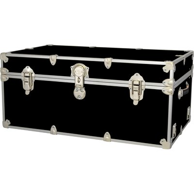 Rhino Trunk and Case Extra Large Armor Trunk - Color: Neon Pink, Tray: Hardwood Tray - XL