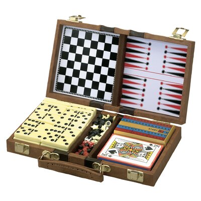 Classic 6-in-1 Travel Game Set 55-0203