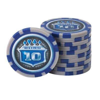 Fat Cat 500 Piece Club Poker Chip Set 55-0655