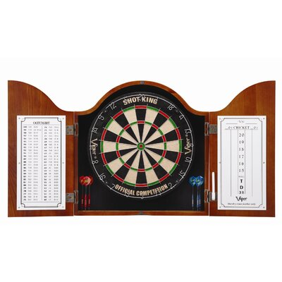 Viper Cambridge Cinnamon Dartboard Cabinet at Sears.com