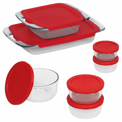 Pyrex Easy Grab 14 Piece Bakeware and Food Storage Set 1123273