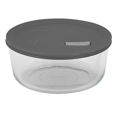 No Leak Lids Round Storage / Baking Dish with Seven Cup Capacity