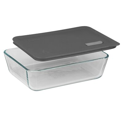No Leak Lids Rectangular Storage / Baking Dish with Six Cup Capacity
